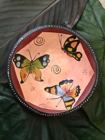 Zimbabwe Butterfly Bowl #3