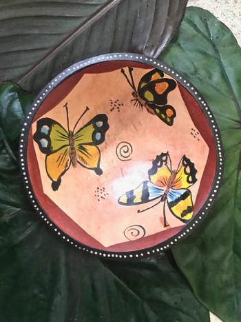 Zimbabwe Butterfly Bowl #4