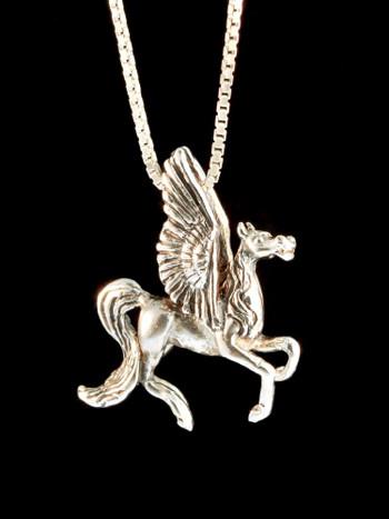 Pegasus Charm - Silver