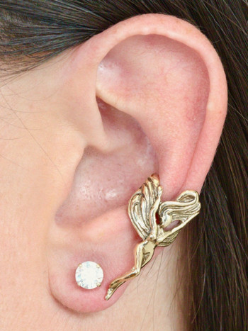 Fairy Ear Cuff - 14K Gold