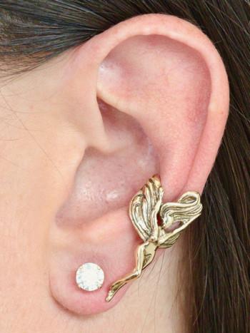 Fairy Ear Cuff - 14K Gold