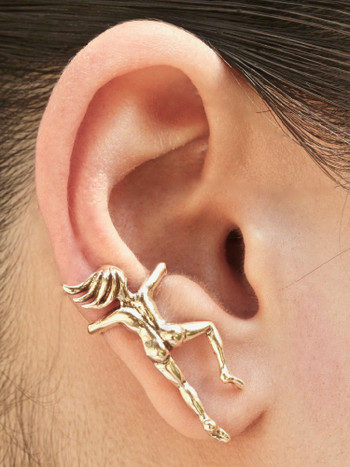 Ear Woman Ear Cuff - 14K Gold