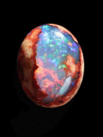 Fathom - Matrix Mexican Fire Opal