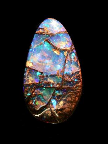 Mosaic - Australian Boulder Opal