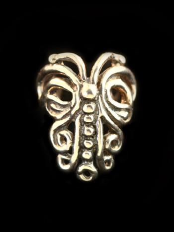 Butterfly Ear Cuff Chevron in Bronze