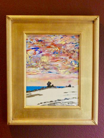 Zacatitos Sunset - Oil on board - SOLD