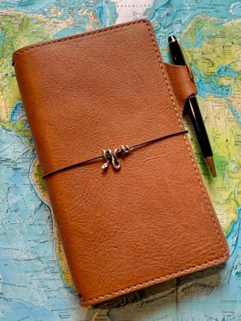 Vine Snake Traveler Notebook Charm in Silver
