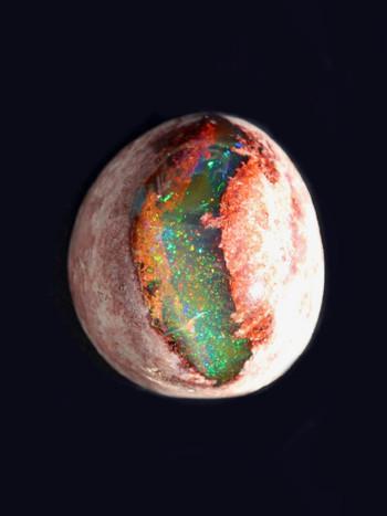 Dragon's Eye - Mexican Matrix Fire Opal