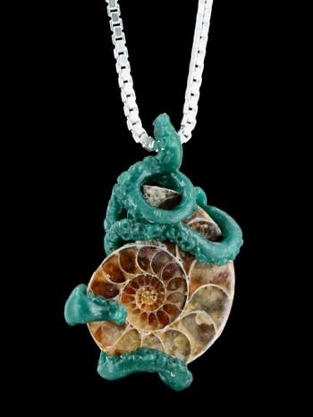 Crowned Tentacle Ammonite