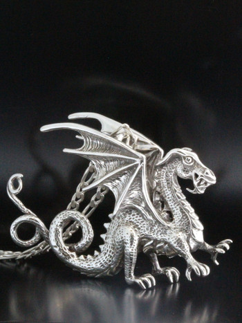 Dragon - Renaissance Dragon Necklace