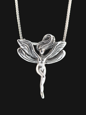 Fairy Pendant Silver