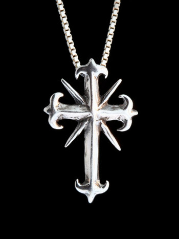 Gothic Cross - Silver