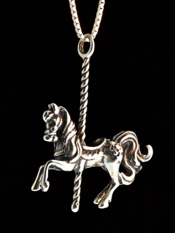 Carousel Horse Pendant