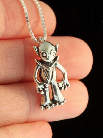 Alien Martian - Silver