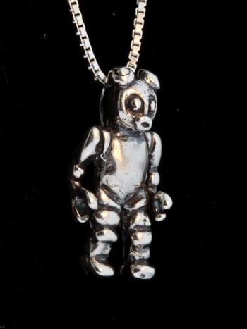 Alien Robot Bear - Silver