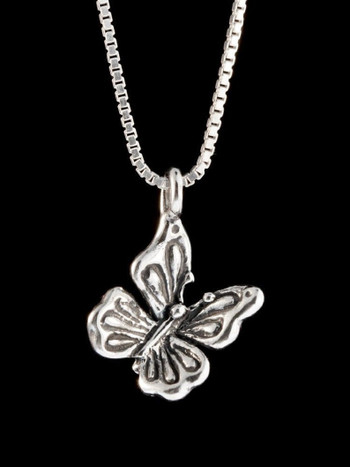 Butterfly Charm - Sterling Silver