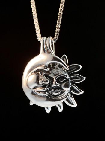 Celestial - Eclipse Pendant - Silver