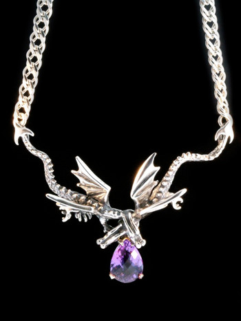 Eternity Dragon with Amethyst