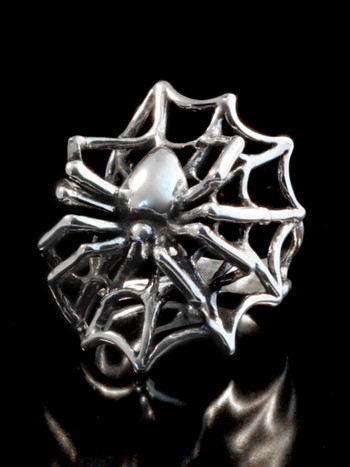 Spider Ring - Silver