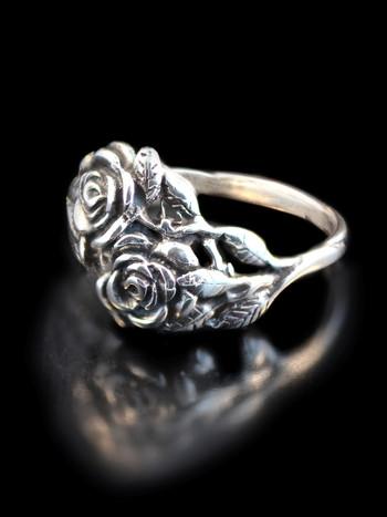 Rose Ring - Silver