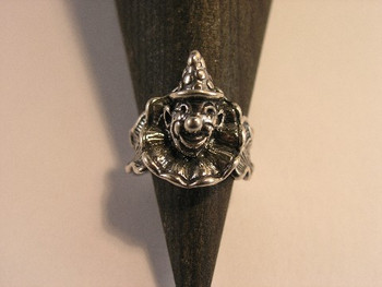 Clown Ring - Silver