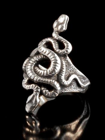 Snake - Alpha Omega Snake Ring