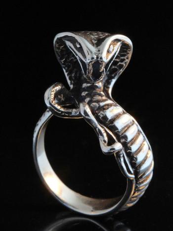 Snake - Cobra Ring - Silver