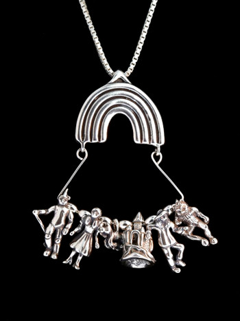 Classic Wizard of Oz Charm Collection - Silver
