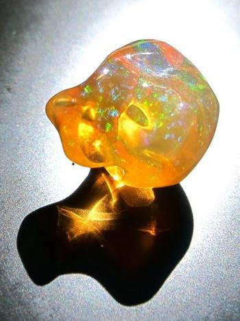 El Dorado - Mexican Fire Opal - SOLD