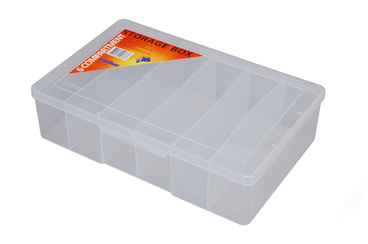 6 Compartment Large Deep Pack Of 3