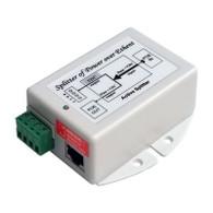 GigE Splitter, 802.3af/at PoE to 48V 20W out