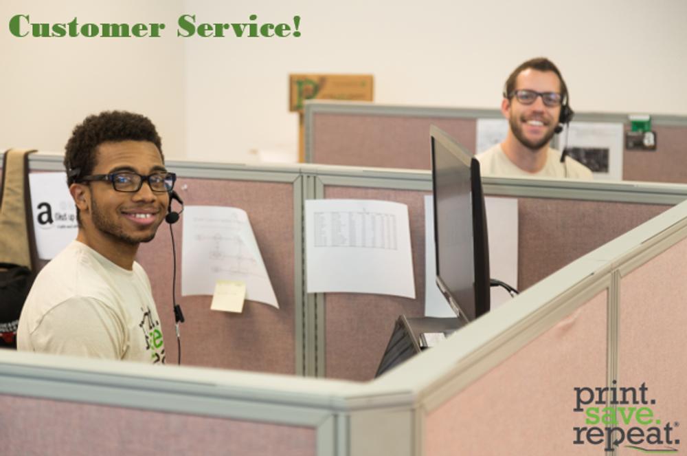 Customer Service at Print.Save.Repeat