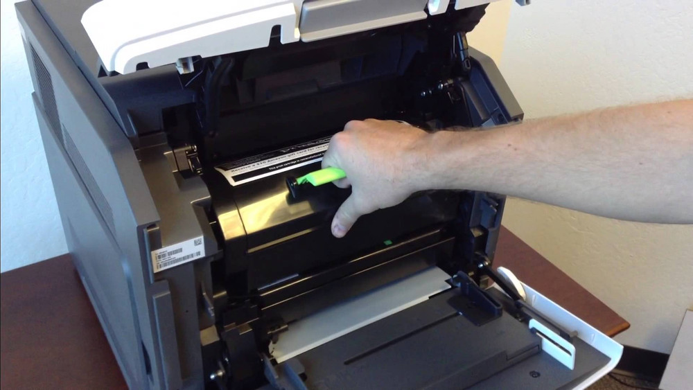 Lexmark MX310dn: How to Replace Your Imaging Drum Unit