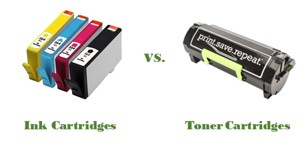 What's the Difference Between Ink and Toner?
