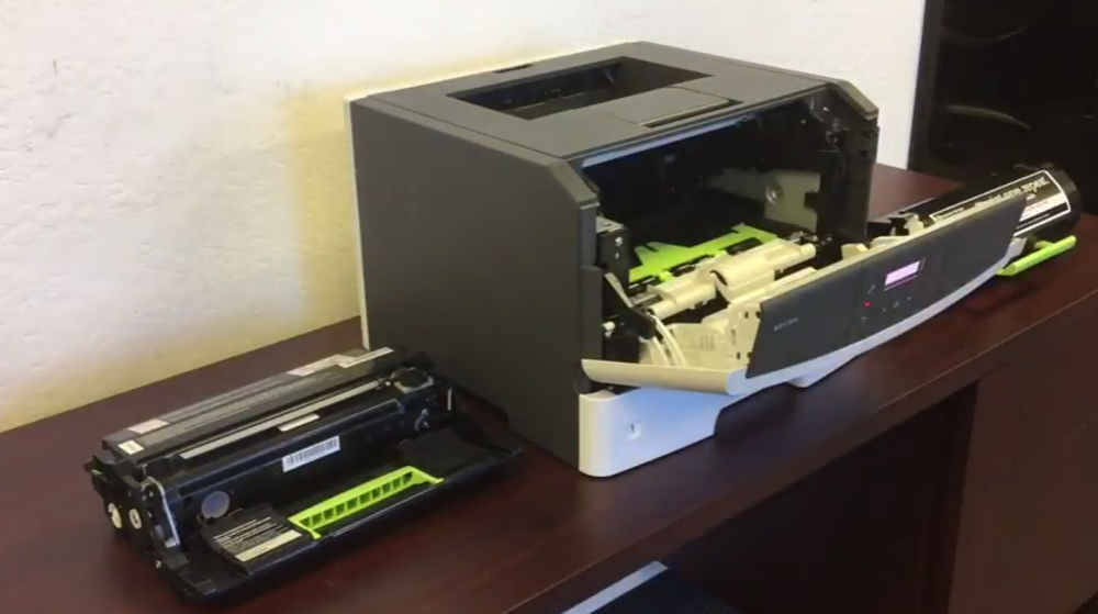 Lexmark MS312dn / MS312dnw: How to Replace the Imaging Unit
