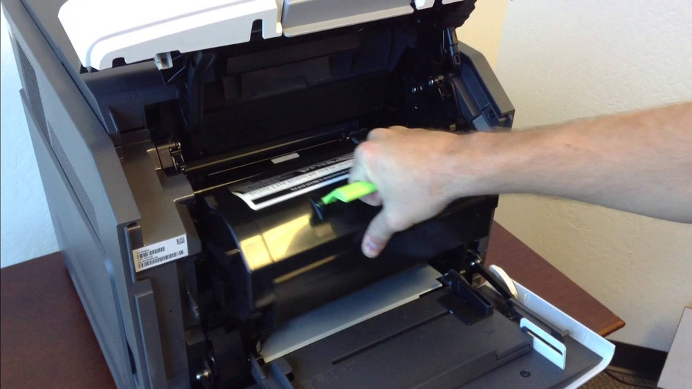 Lexmark MS710n / MS710dn: How to Replace the Toner Cartridge