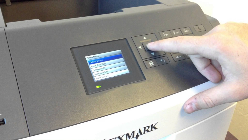 Lexmark MS812de / MS812dn / MS812dtn: How to Print on Labels