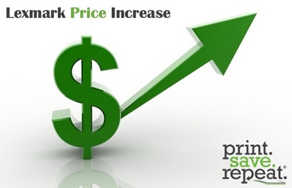 Lexmark Price Increase Effective 07/01/2018