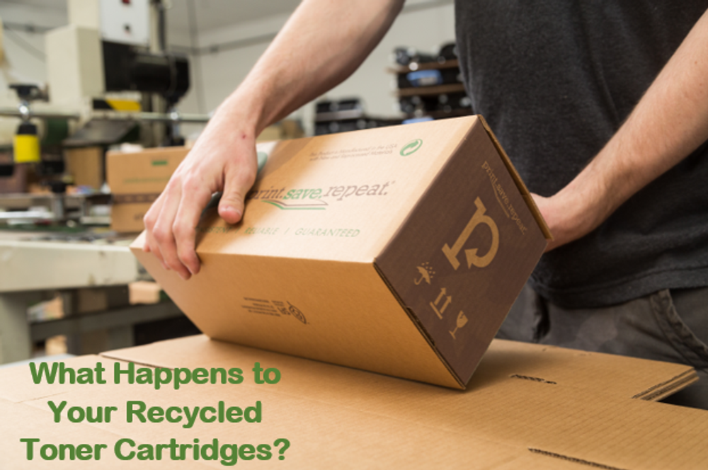 What Happens to Your Recycled Toner Cartridges?