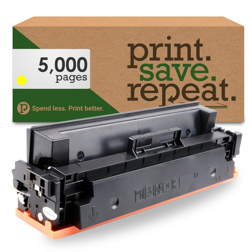 HP 410X Yellow High Yield Compatible Toner Cartridge (CF412X) for M377, M452, M477 [5,000 Pages]