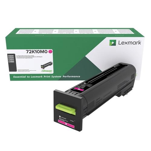OEM Lexmark 72K10M0 Magenta Standard Yield Toner Cartridge for CS820, CX820, CX825, CX860 [8,000 Pages]