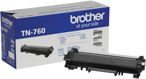 OEM Brother TN-760 High Yield Toner Cartridge [3,000 Pages]