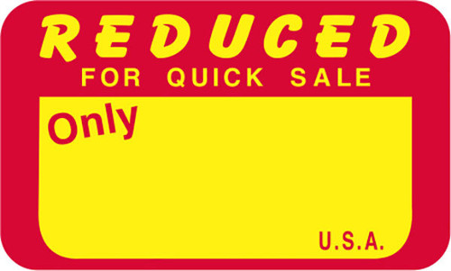 """1.5"""" x 0.9"""" Reduced for Quick Sale 
