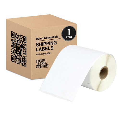 4x6 Direct Thermal Shipping Labels for Dymo LabelWriter 4XL | 220 Labels | 1 Roll
