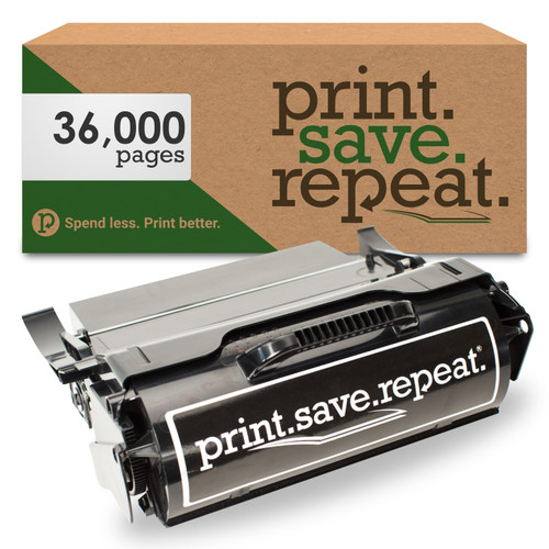 Lexmark T654X04A Extra High Yield Remanufactured Label Applications Toner Cartridge for T654, T656, TS654, TS656 [36,000 Pages]