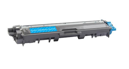 Brother TN225C Cyan High Yield Remanufactured Toner Cartridge [2,200 Pages]