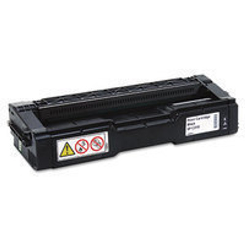 Genuine Ricoh 406475 Black High Yield Toner Cartridge for Aficio SP C231, C232, C242, C310, C311, C312, C320 [6,500 Page