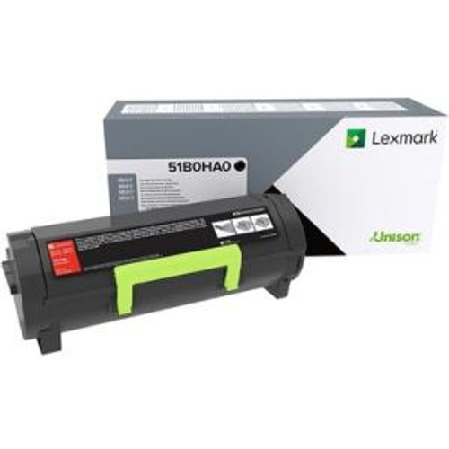 OEM Lexmark 51B0HA0 High Yield Toner Cartridge for MS417, MS517, MS617, MX417, MX517, MX617 [8,500 Pages]