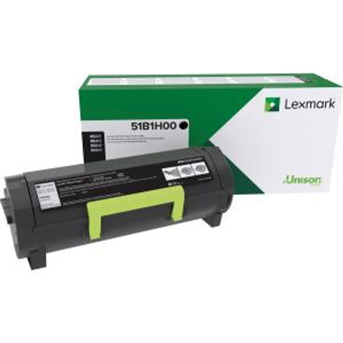 OEM Lexmark 51B1H00 High Yield Toner Cartridge for MS417, MS517, MS617, MX417, MX517, MX617 [8,500 Pages]