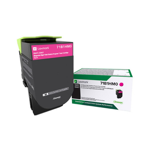 OEM 71B1HM0 Magenta High Yield Toner Cartridge for CS417, CS517, CX417, CX517 [3,500 Pages]
